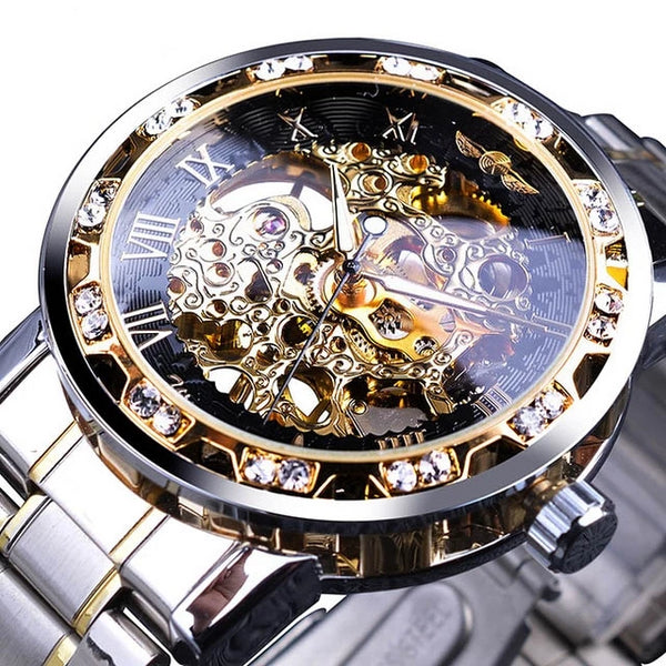 Royal Transparent Luxurious Watch