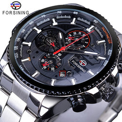 Forsining Stainless Steel Watch