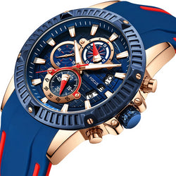 Chronograph Exquisite Quartz Luxury Watch