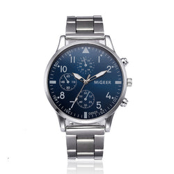 Eminent Stainless Steel Quartz Watch