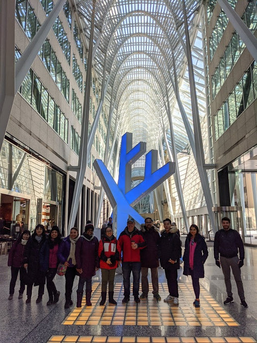 December 28, 2019 - Toronto Downtown Free Tour
