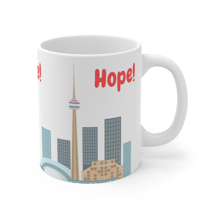 Support us with Hope for these difficult times! New Special Edition Mug