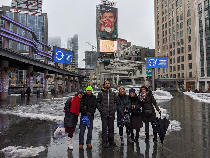January 25, 2020 - Toronto Downtown Free Tour