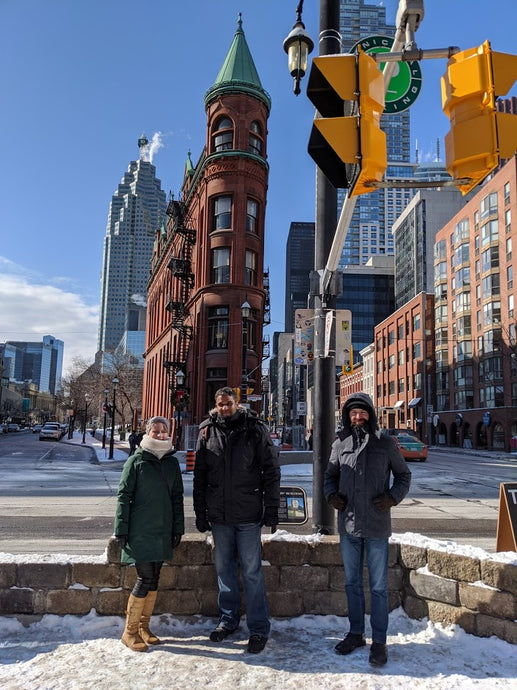 February 8, 2020 - Toronto Downtown Free Tour