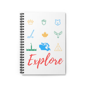 Explorers Elemental Spiral Notebook - Ruled Line