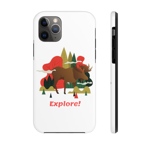 Deep Woods Explorer Mate Tough Phone Case
