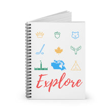 Load image into Gallery viewer, Explorers Elemental Spiral Notebook - Ruled Line