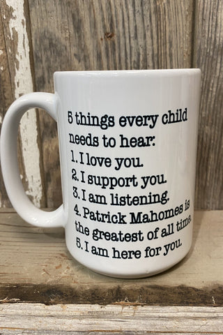 5 Things Every Child Needs To Hear