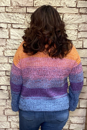 Cowl Neck Sweater SWEATER TRIBAL