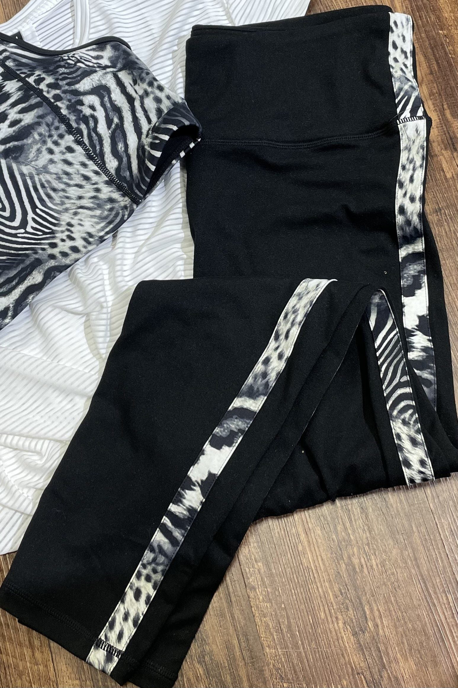 Safari Print Legging UNDER K.Lane's Boutique