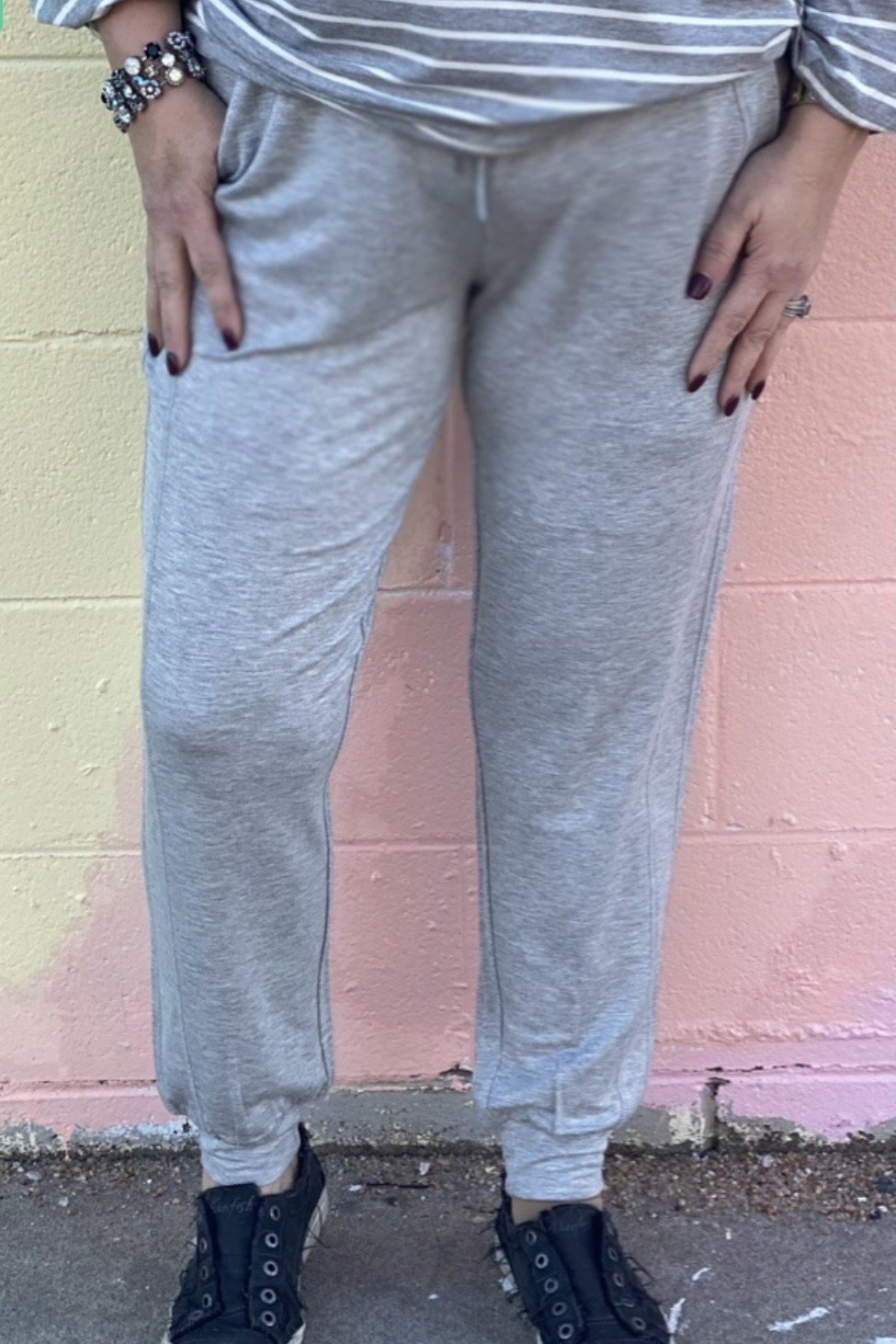 So Soft Pull On Jogger BOTTOMS LIVERPOOL