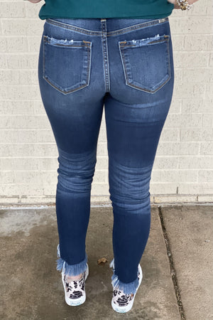 KanCan High Rise Ankle Skinny JEANS KAN CAN