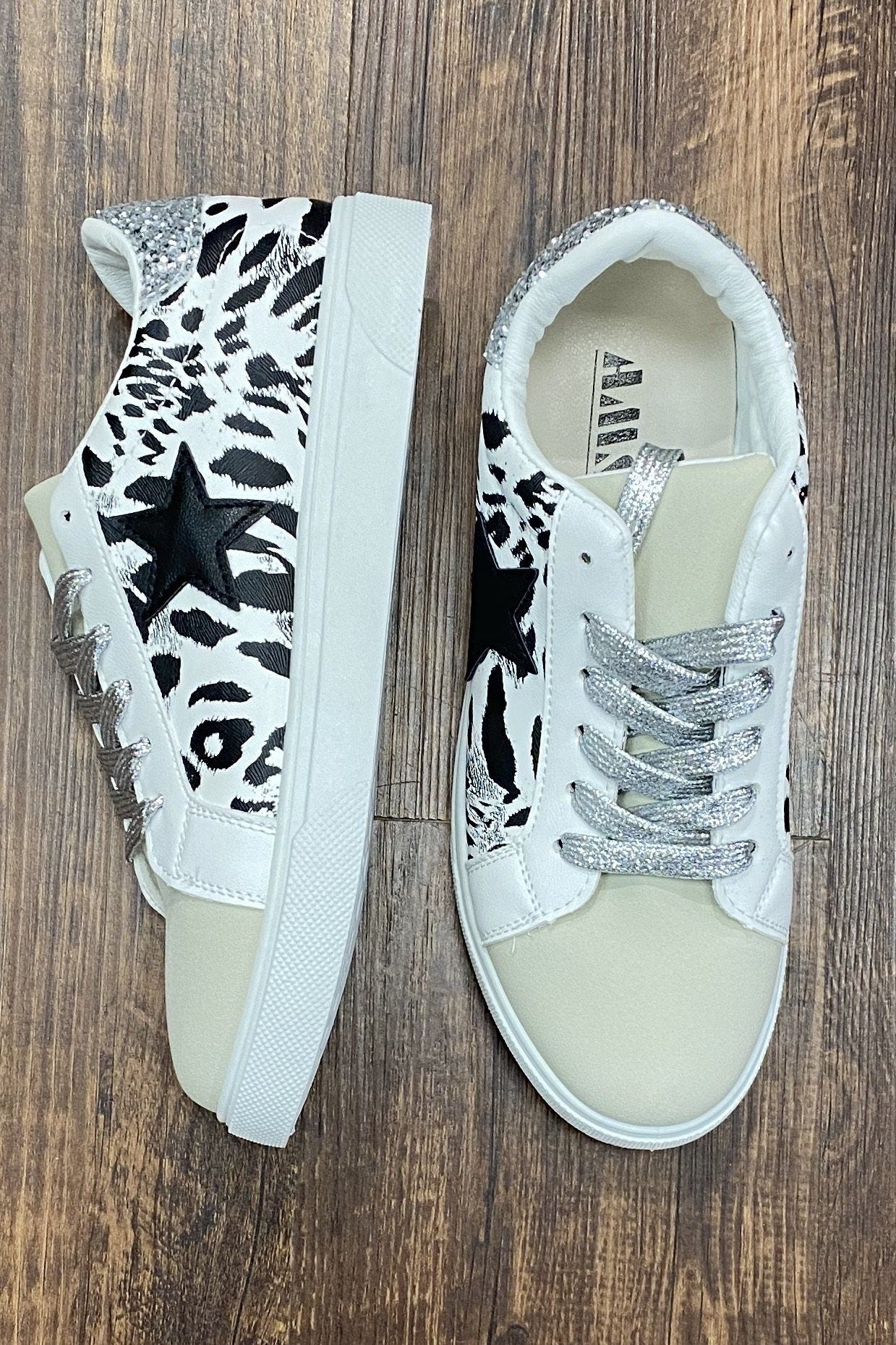 White Tiger Star Kick SHOES K.Lane's Boutique