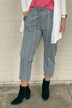 Pull On Crop Trouser