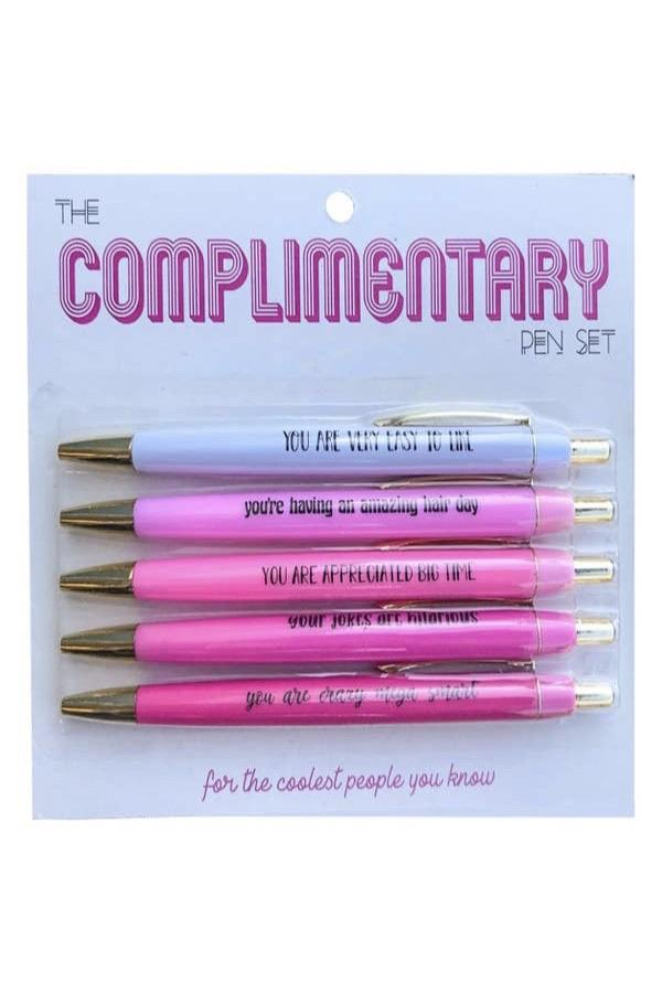 Complimentary Pen Set 5pc