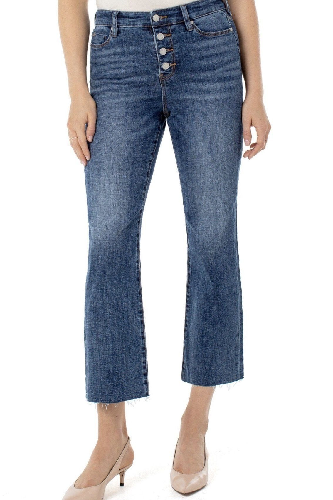 Stevie Hi-Rise Stovepipe JEANS LIVERPOOL