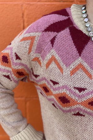 Fair Isle Sweater SWEATER K.Lane's Boutique