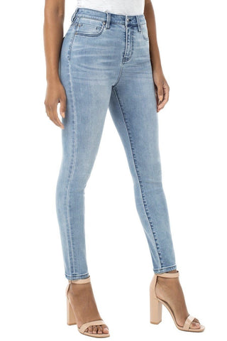 Abby High Rise Skinny Jeans
