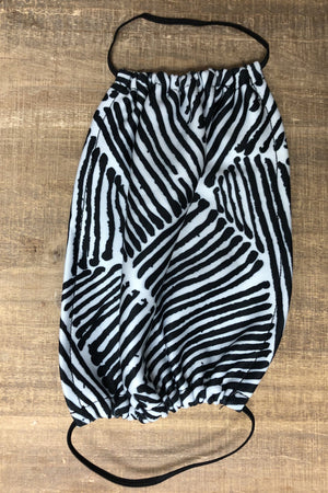 Masks SCARF/HAT/WINTERGOODS K.Lane's Boutique ONESIZE ZEBRA