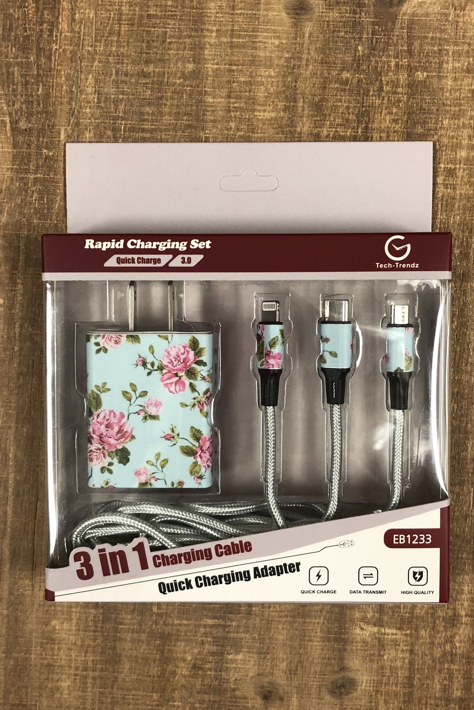 Floral Rapid Charging Set GIFT/OTHER K.Lane's Boutique