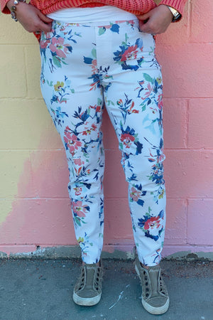 Pull On print Jegging BOTTOMS TRIBAL