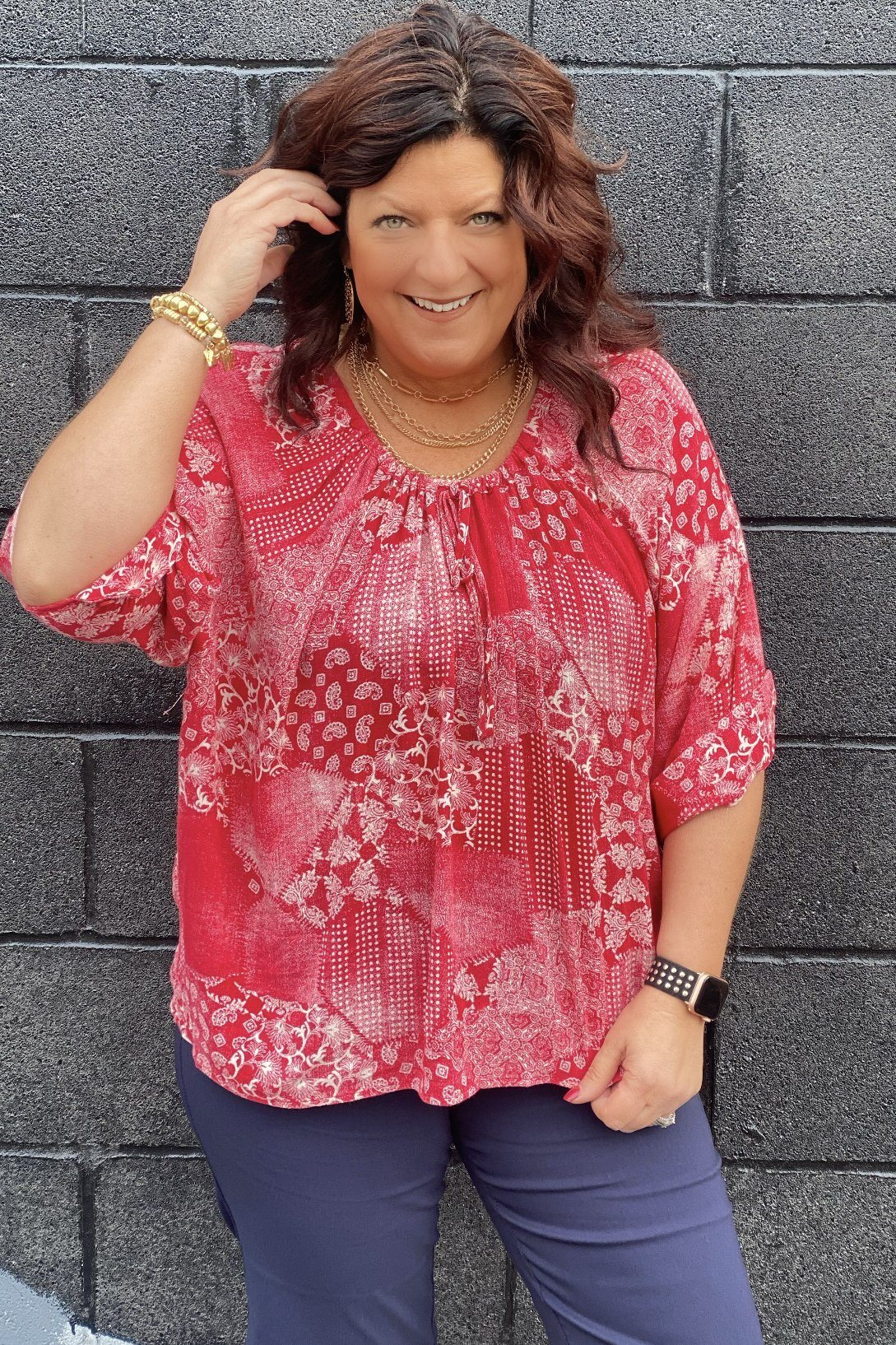 Paisley Blouse MISSY TOP SPECIAL ZAC & RACHEL