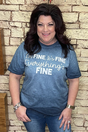 Im Fine Graphic Tee