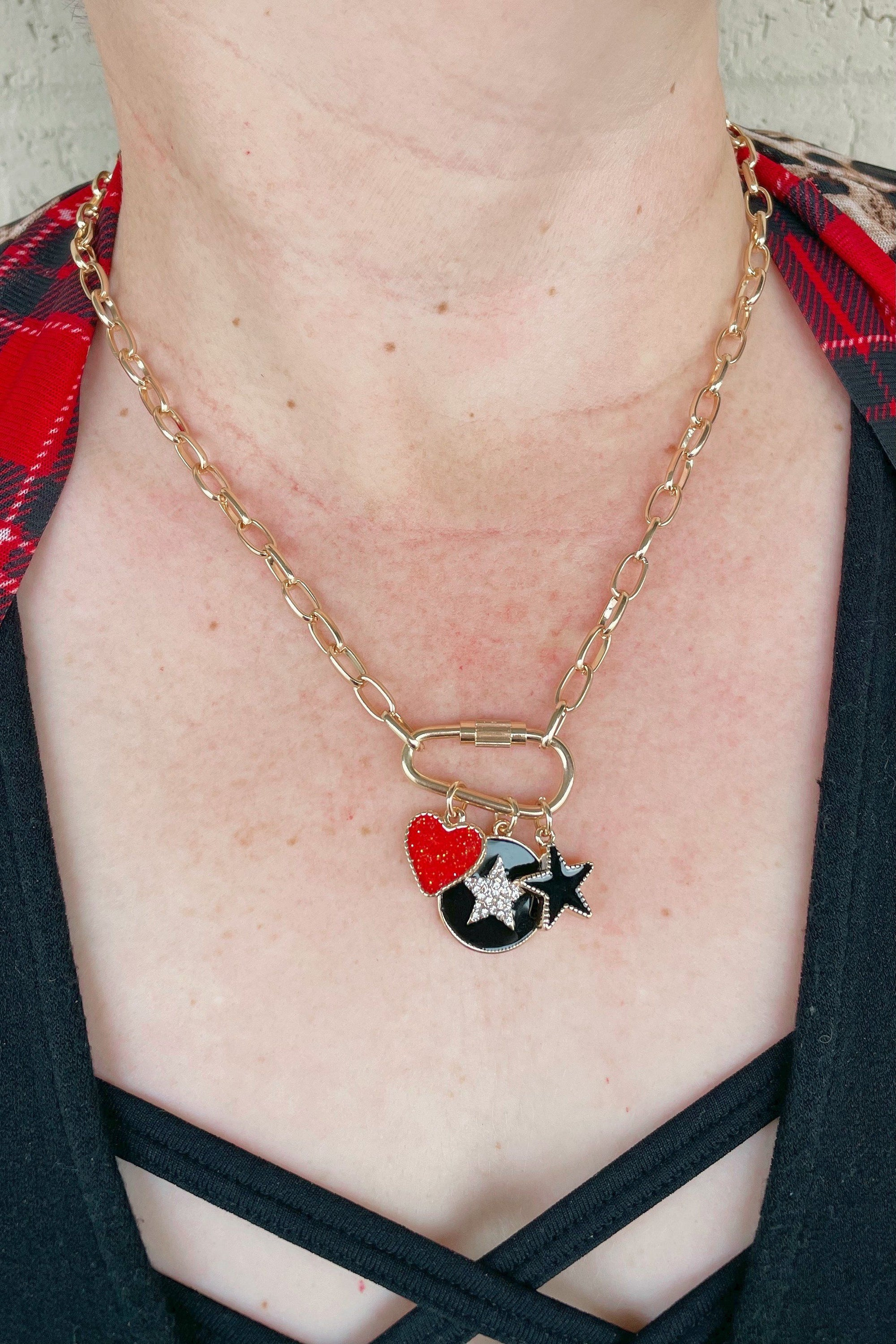 Chain/Heart/Star Necklace