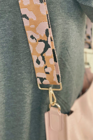 Blush Messenger w/ Guitar Strap HANDBAGS K.Lane's Boutique