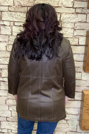 Faux Zip Jacket
