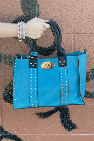 Alyssa Bag HANDBAGS K.Lane's Boutique TEAL
