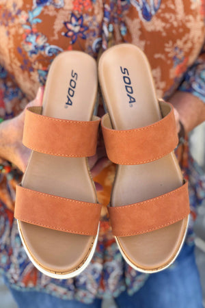 Peach Sandal SHOES K.Lane's Boutique