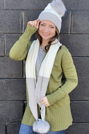 Hat and Scarf Set SCARF/HAT/WINTERGOODS K.Lane's Boutique