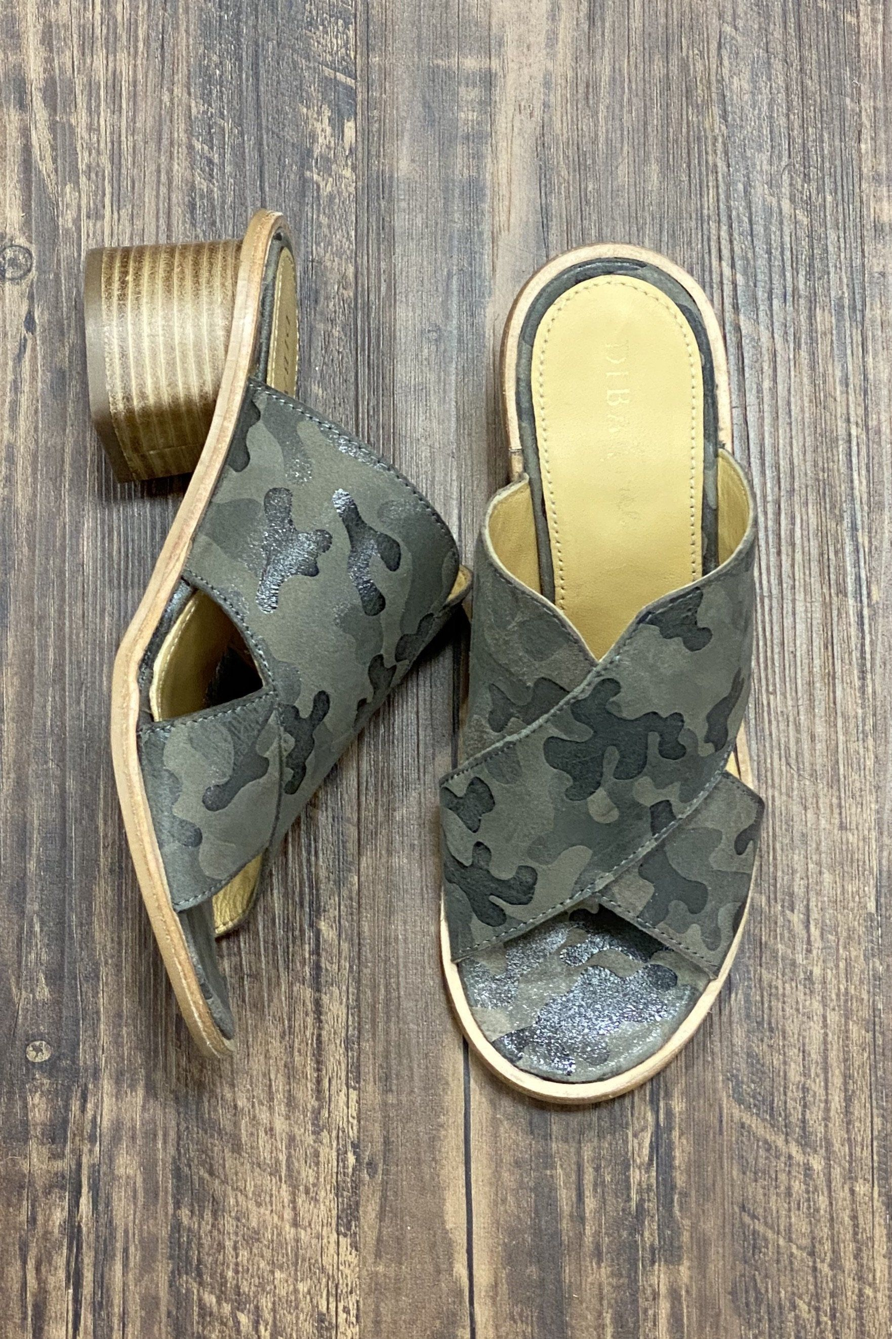 Camo Suede Slide SHOES K.Lane's Boutique