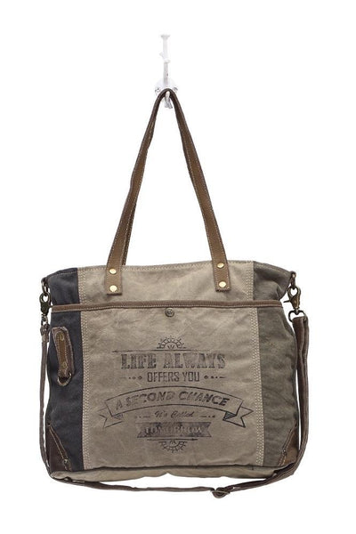 Life Always Shoulder Bag