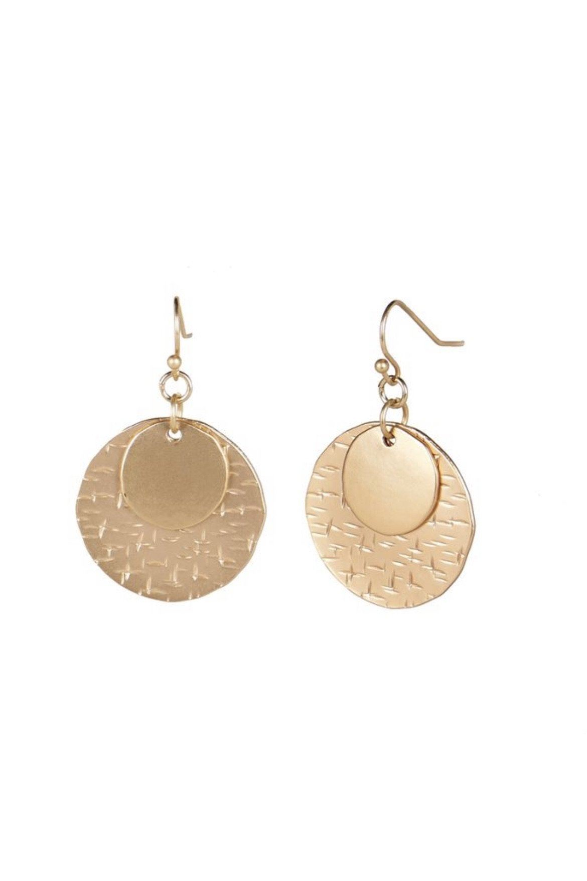 Stacked Moon Earrings JEWELRY Whispers