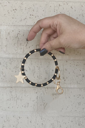 Beaded Star Key Chain GIFT/OTHER K.Lane's Boutique
