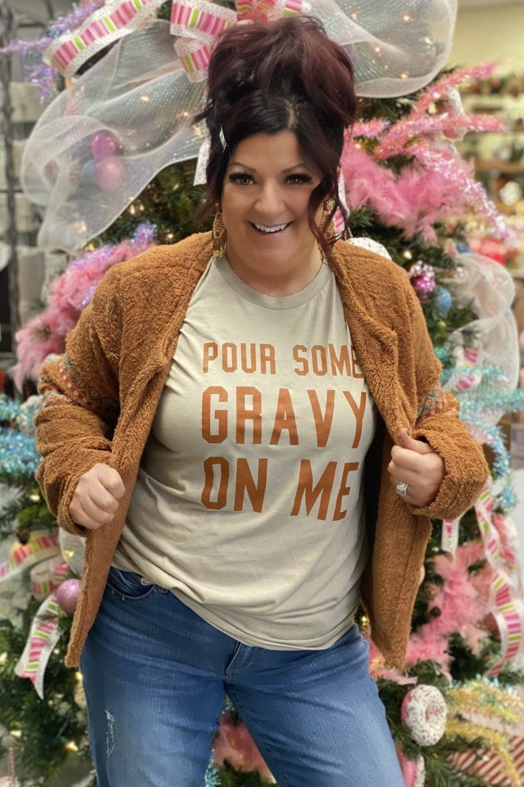 Pour Some Gravy Tee MISSY BASIC KNIT K.Lane's Boutique