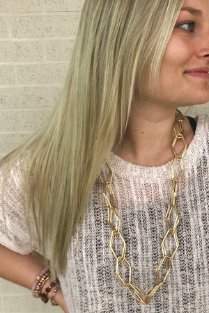 Big Chain Necklace JEWELRY K.Lane's Boutique GOLD