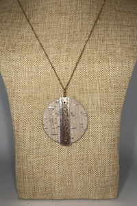 Cork Necklace Natural