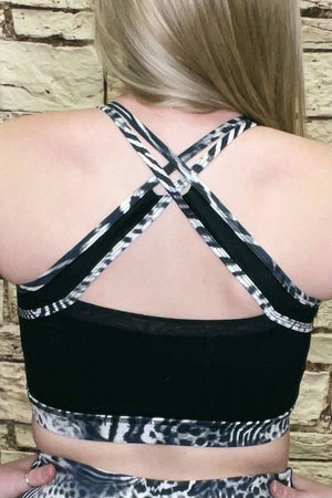 X Back Sport Bra UNDER K.Lane's Boutique
