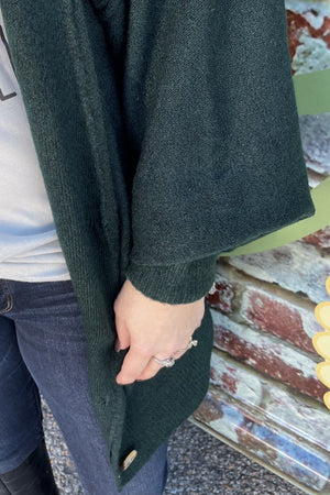 Oversized Button Cardigan