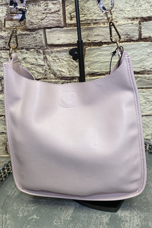 Blush Classic Messenger w/ Guitar Strap HANDBAGS K.Lane's Boutique