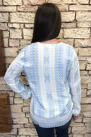 Aztec Blouse MISSY TOP SPECIAL TRIBAL