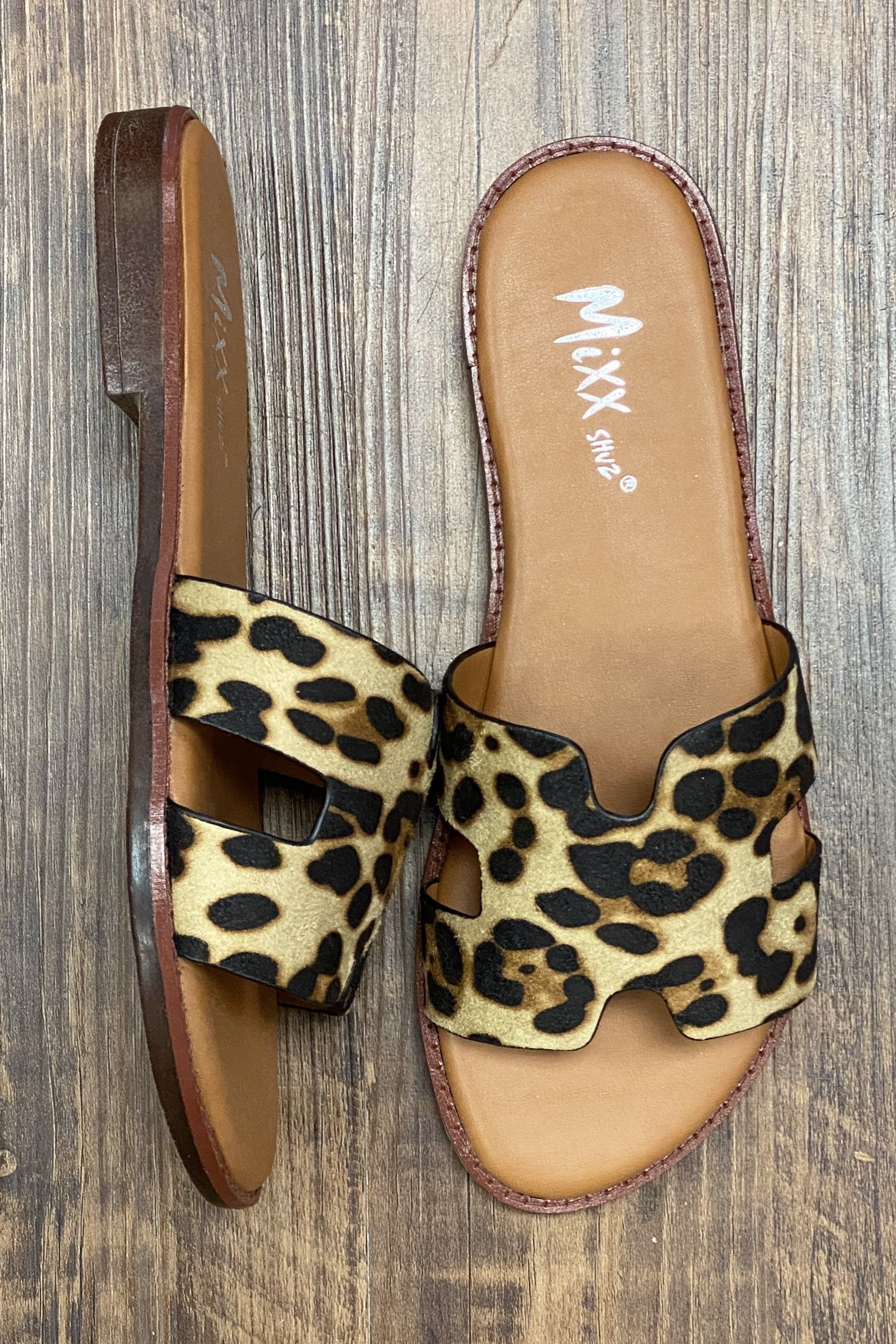 Leopard Slide SHOES K.Lane's Boutique