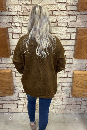 Detailed Back Cardigan