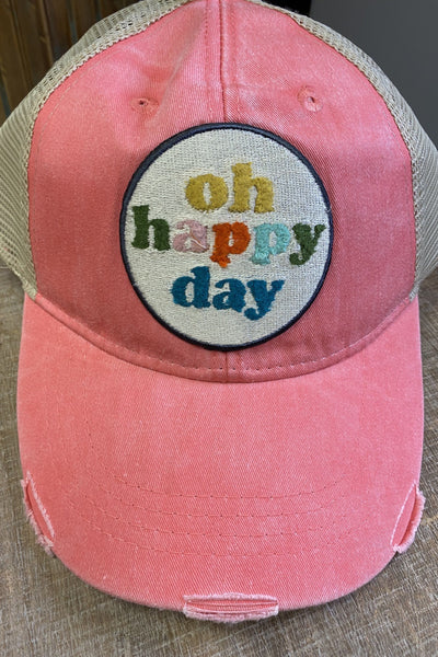Oh Happy Day Baseball Hat