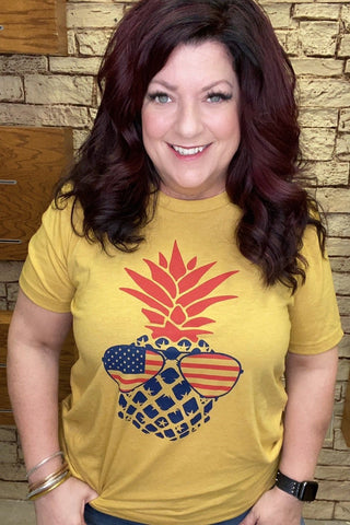 Pineapple Flag Tee