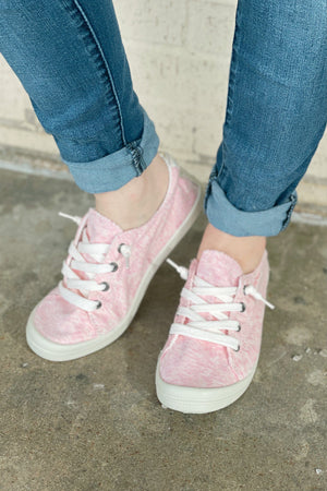 Comfort Tennie SHOES K.Lane's Boutique PINK 6.0