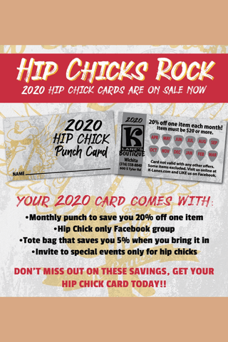 2020 Hip Chick Card